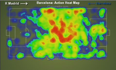 Barcelona Heat Map